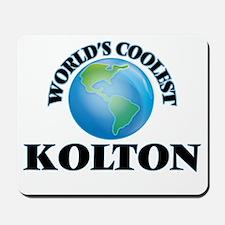 World's Coolest Kolton Mousepad