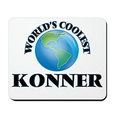 World's Coolest Konner Mousepad