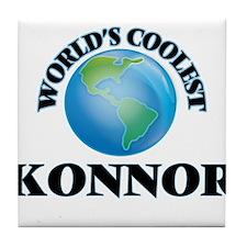 World's Coolest Konnor Tile Coaster