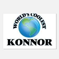 World's Coolest Konnor Postcards (Package of 8)