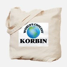 World's Coolest Korbin Tote Bag