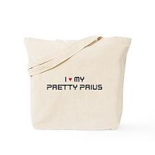 Pretty Prius Tote Bag