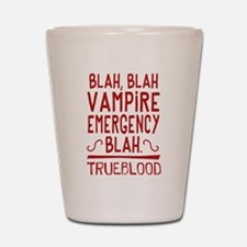 Pam Vampire Emergency True Blood Shot Glass