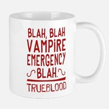 Pam Vampire Emergency True Blood Mugs