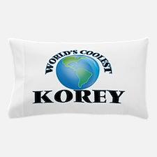 World's Coolest Korey Pillow Case