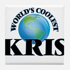 World's Coolest Kris Tile Coaster