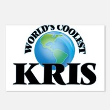World's Coolest Kris Postcards (Package of 8)