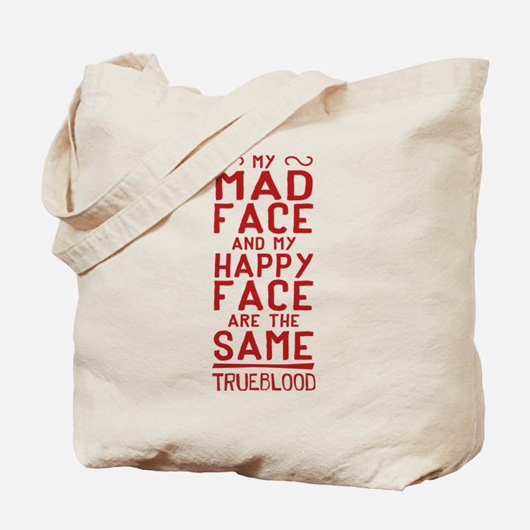 Pam True Blood Mad Face Tote Bag