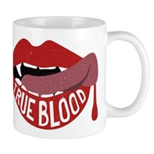 True Blood Vampire Lips Graphic Mugs