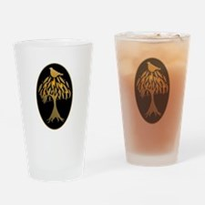 Partridge in a Pear Tree Drinking Glass