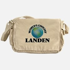 World's Coolest Landen Messenger Bag
