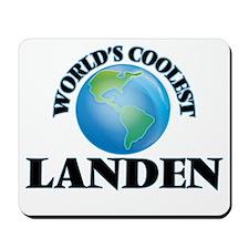 World's Coolest Landen Mousepad