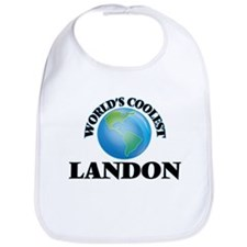 World's Coolest Landon Bib