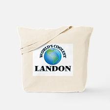 World's Coolest Landon Tote Bag