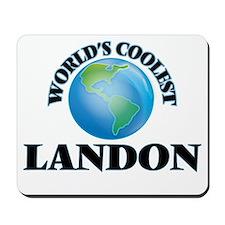 World's Coolest Landon Mousepad