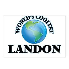 World's Coolest Landon Postcards (Package of 8)