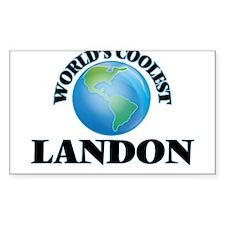 World's Coolest Landon Decal