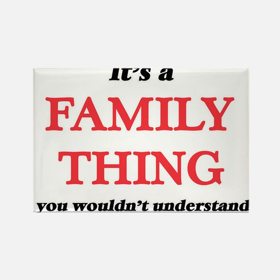 It's a Family thing, you wouldn't Magnets