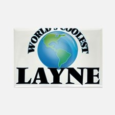 World's Coolest Layne Magnets