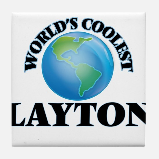 World's Coolest Layton Tile Coaster