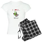 I Love Wine Women's Light Pajamas