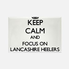 Keep calm and focus on Lancashire Heelers Magnets