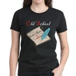 Old School Women's Dark T-Shirt