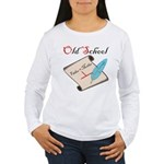 Old School Women's Long Sleeve T-Shirt