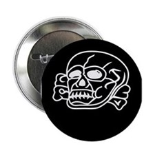 """3rd SS Division Totenkopf 2.25"""" Button (10 pack)"""