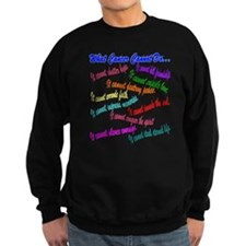 Funny Team in training Sweatshirt