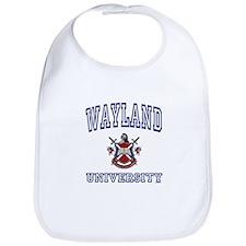 WAYLAND University Bib