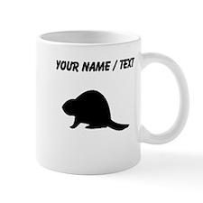 Custom Beaver Silhouette Mugs