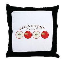 Nana's Kitchen Throw Pillow