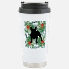 Xmas French Bulldog Travel Mug