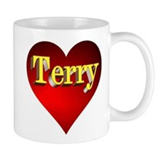 Terry Heart Mug