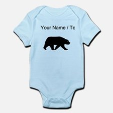 Custom Bear Walking Silhouette Body Suit