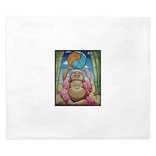 Jolly Buddha King Duvet
