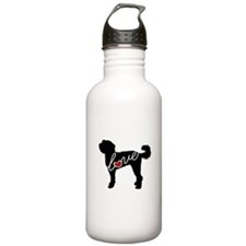 Doodle Love Water Bottle