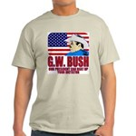 G.W. Bush vs. Dictators Ash Grey T-Shirt