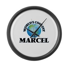 World's Coolest Marcel Large Wall Clock