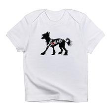 Chinese Crested Dog Infant T-Shirt