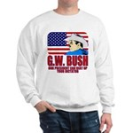 G.W. Bush vs. Dictators Sweatshirt