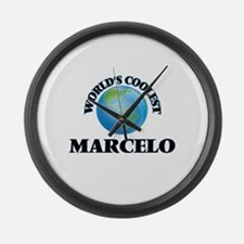World's Coolest Marcelo Large Wall Clock