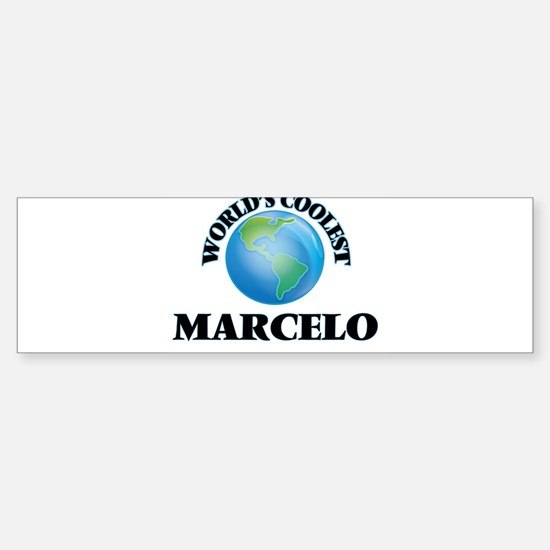 World's Coolest Marcelo Bumper Bumper Bumper Sticker