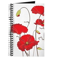 Red Poppies Journal