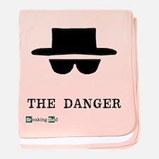 Heisenberg Hat the Danger baby blanket