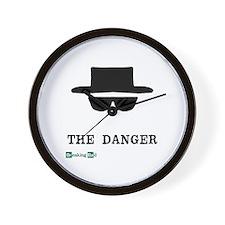 Heisenberg Hat the Danger Wall Clock