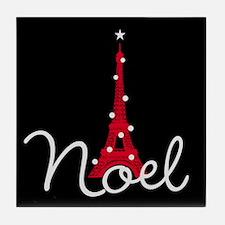 Paris Noel Tile Coaster