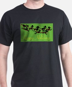 Poodle Holiday T-Shirt
