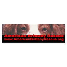 American Brittany Rescue Bumper Bumper Sticker